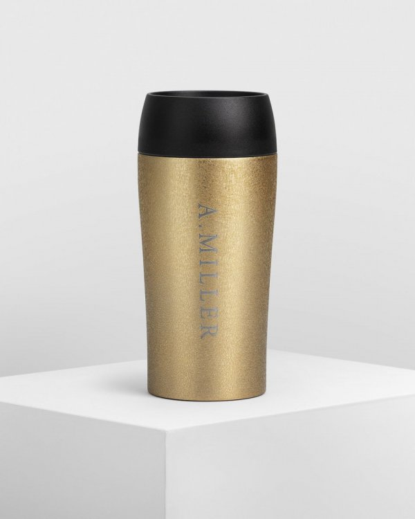 Travel Mug - Dazzle Gold
