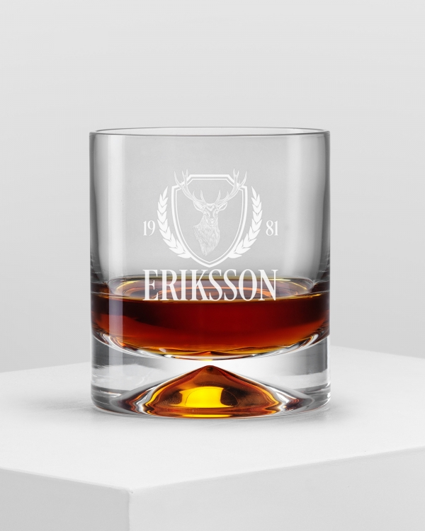 GRAVITY Whisky Glass - HUNTING